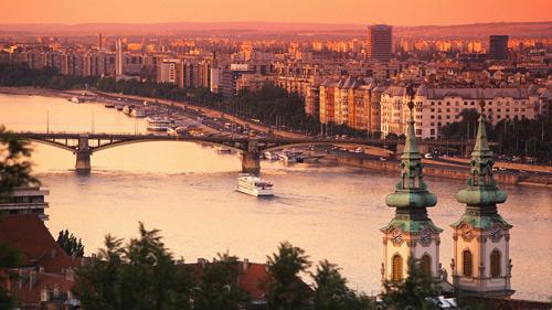 budapest-croisiere-danube-couche-soleil