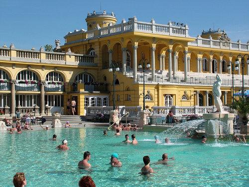 Billet d'entrée aux bains Széchenyi de Budapest - Coupe-file