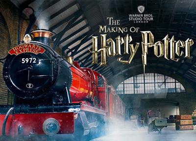 Harry Potter Warner Bros : excursion aux studios de tournage