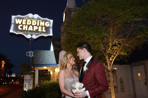 Mariage à Las Vegas dans la chapelle de Graceland
