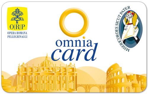 Carte de Rome et carte Omnia Vatican