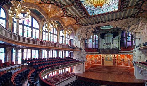 Billet d'entrée au Palau de la Musica Catalana