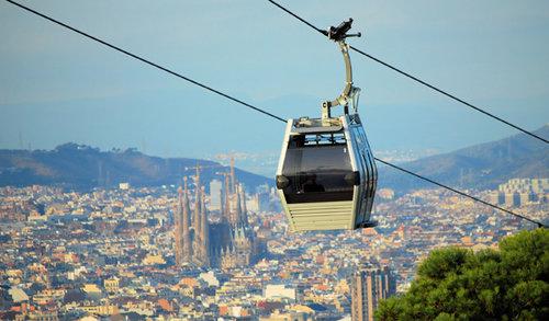 Billet pour le téléphérique de Montjuïc