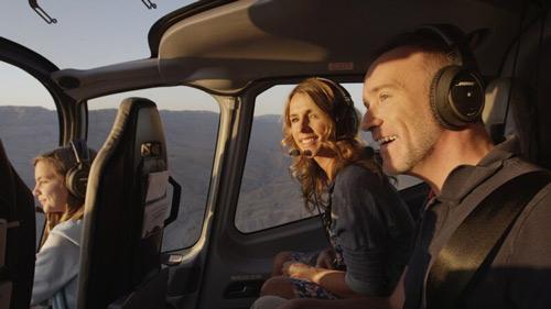 Survol en hélicoptère au Grand Canyon