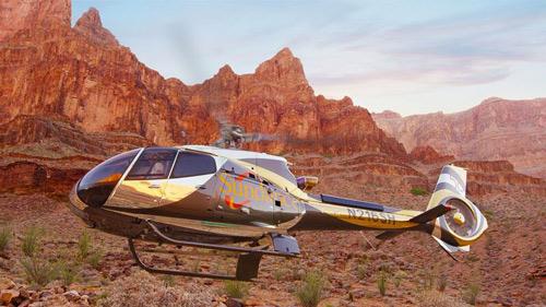 Survol en hélicoptère au Grand Canyon avec entrée au Skywalk