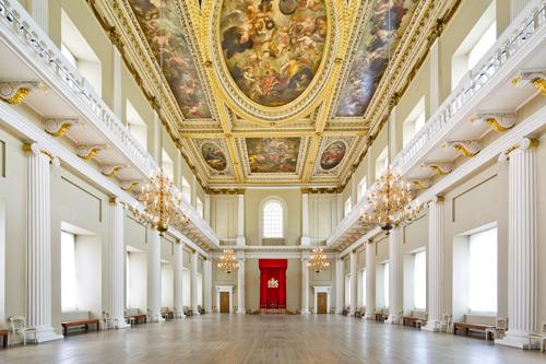 Billet d'entrée à la maison des Banquets à Londres
