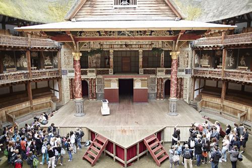 Le  théâtre du Globe de Shakespeare