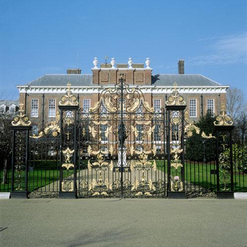 Billet d'entrée au palais de Kensington