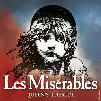 Les Misérables à Londres : billet d'entrée au spectacle