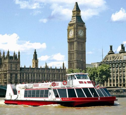 Londres : croisière sur la Tamise avec déjeuner
