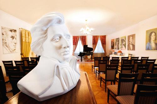 Concert Chopin à la Chopin Gallery à Cracovie