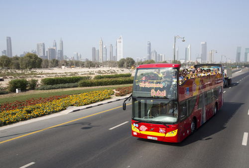 dubai-tour-bus-hop-on-hop-off-commentaire-multilingues