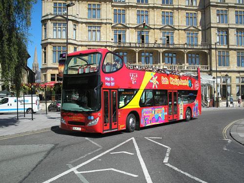 Tour de Bath en bus à arrêts multiples