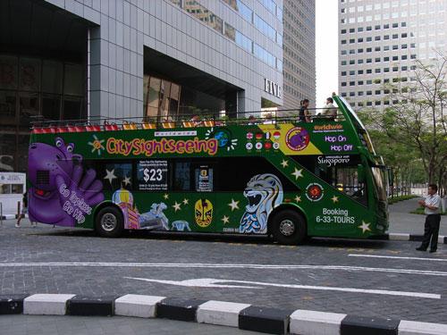 Tour de Singapour en bus à arrêts multiples