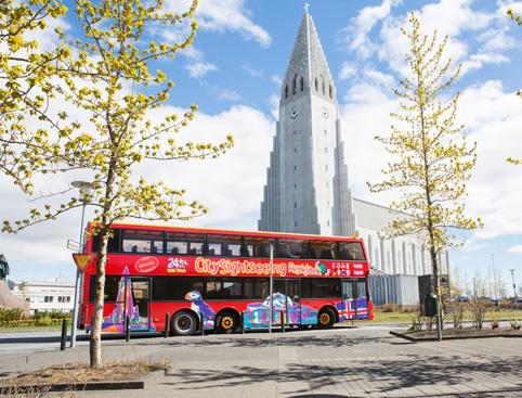 Tour de Reykjavik en bus à arrêts multiples