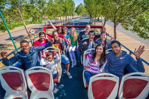 Pass Hop-on Hop-off  1 ou 2 jours : Tour combiné de Johannesbourg et Soweto