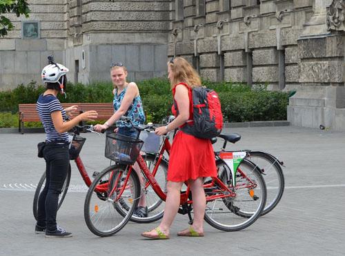 Location de vélo à Budapest