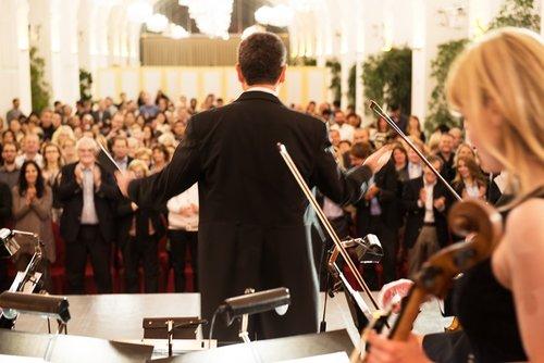 Billet d'entrée à un concert au Palais de Schönbrunn