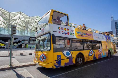 Tour de Lisbonne en bus à arrêts multiples - Pass 48h
