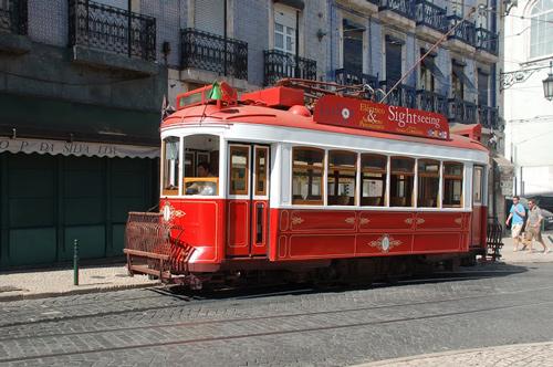 Circuit de Lisbonne à arrêts multiples par tramway