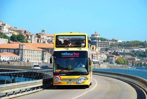 Circuit de Porto en bus à arrêts multiples