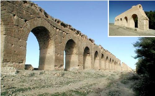 Aqueduc de Zaghouan*