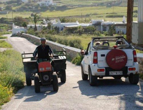 Safari en Jeep à Mykonos