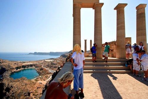 Excursion d'une 1/2 journée à Lindos - de Rhodes