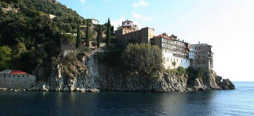 Tour en bateau de la montagne Athos