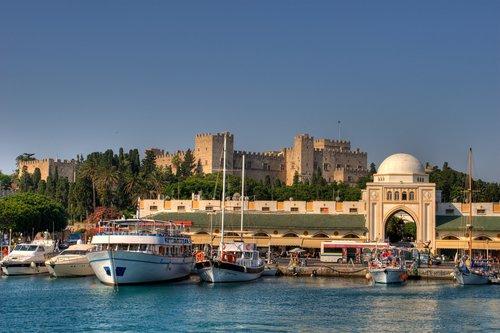 Visite guidée dans la ville de Rhodes