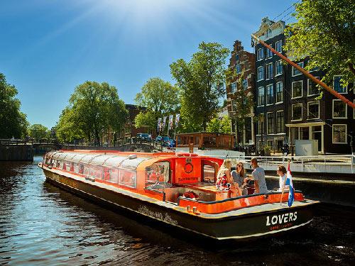 Amsterdam : croisière sur les canaux de la ville