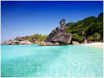 Croisière d'une journée vers l'île de Similan en hors-bord