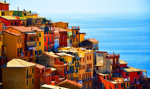 Excursion au départ de Pise vers Cinque Terre et Portovenere