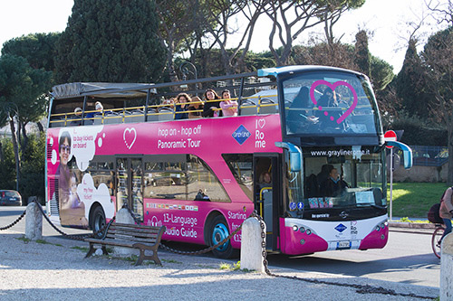 Visite en bus hop-on hop-off - Cirque Maxime