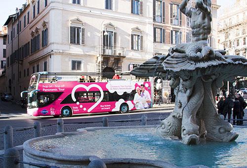 Rome : pass hop-on Hop-off 1 et 2 jours