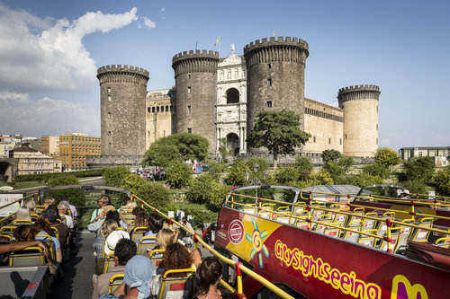 Hop-On Hop-Off : Tour de Naples en bus à arrêts multiples