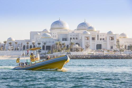 Croisière au Palais des Emirats, les palais royaux et le Grand Mosquée