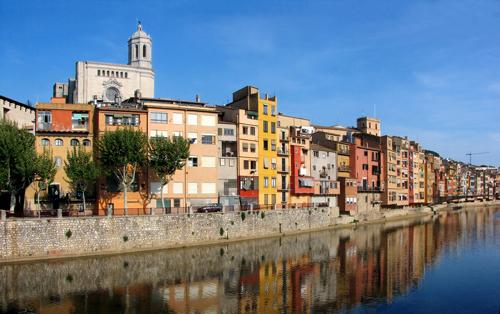 Visite de Girona, Figueres et du musée Dali au départ de Barcelone