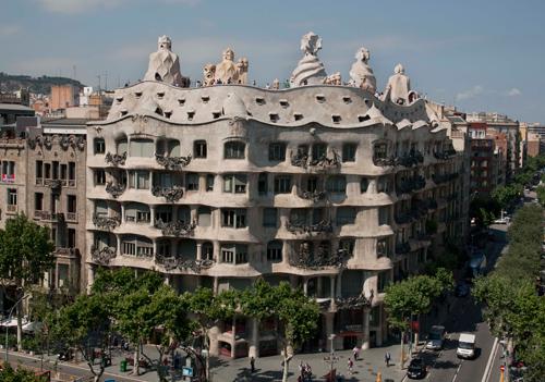 Excursion artistique d'une demi-journée à Barcelone : les chefs-d'oeuvre de Gaudi