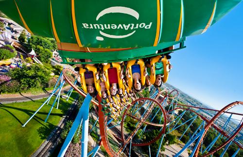 Billet d'entrée au Parc d'attractions Portaventura avec transport