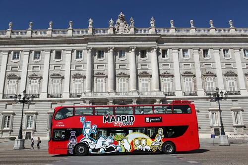 Visite de la ville Madrid