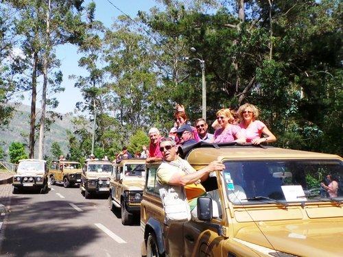 Excursion privée d'une demi-journée en 4x4 au départ de Funchal