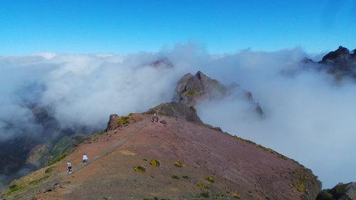 Excursion sur les montagnes de Pico Do Arieiro et la vallée des Sœurs