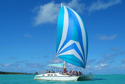 Croisière en catamaran à l'Île Maurice - Turquoise