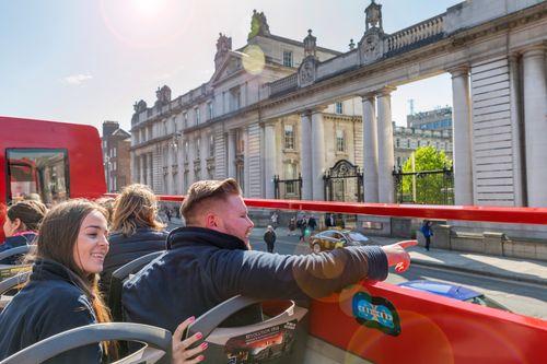 Tour de Dublin en bus à arrêts multiples