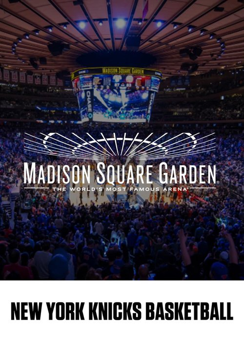 Knicks New York : billet d'entrée à un match NBA