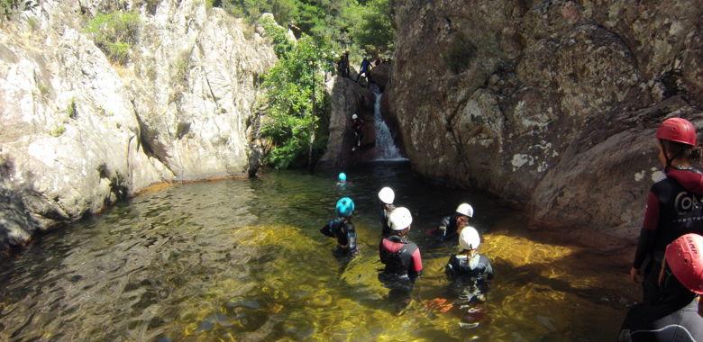 Canyoning Propriano Le Baracci : Ludique et Fun