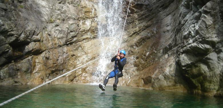 Canyoning Ajaccio La Richiusa : l'incontournable