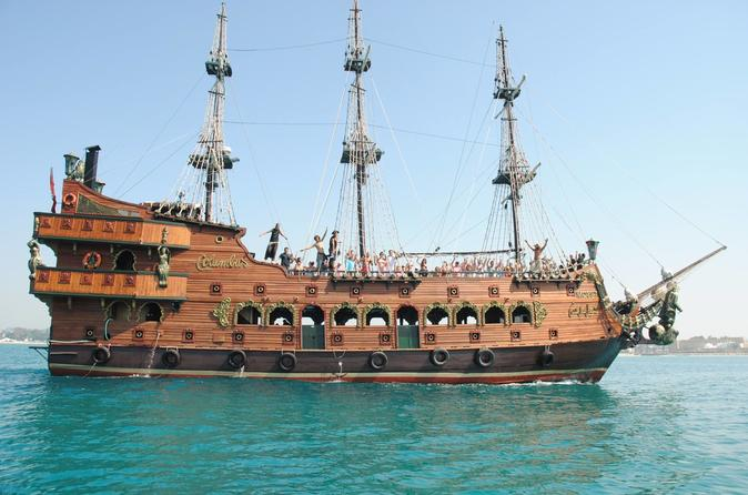 Croisière en bateau pirate au départ de Djerba