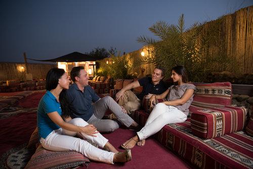 Nuitée au campement du désert de Dubaï